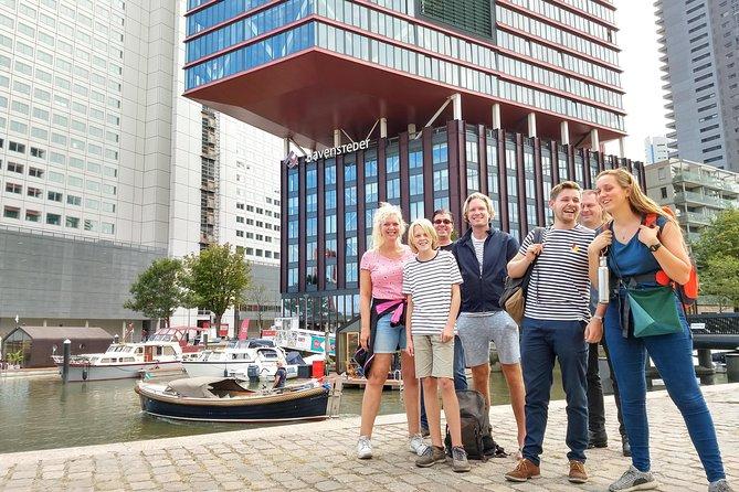 Visite à pied des points forts recommandés de Rotterdam