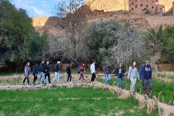day trip from Marrakech to Atlas mountains.Three valley excursion