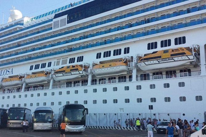 Transfer to the port of Civitavecchia from Rome (or in reverse)