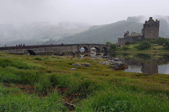 Invergordon port to eilean donan castle