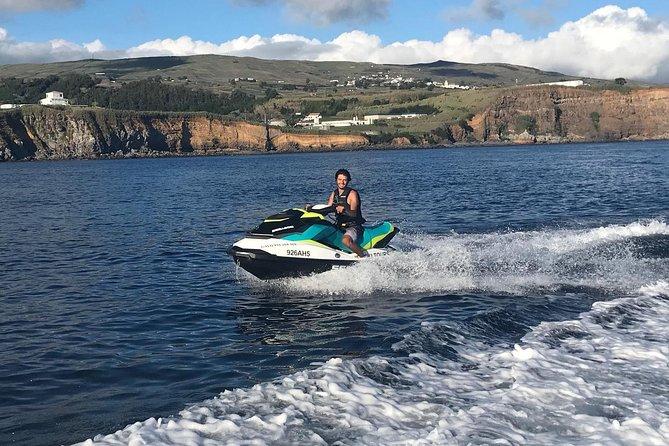 Jet ski tour to goat islets