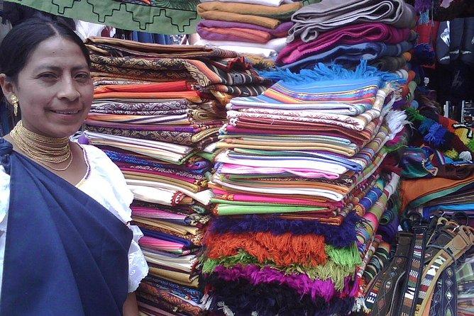 At Otavalo MArket