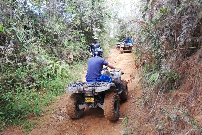 ATVs experience on the outskirts