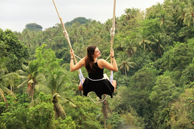 Ubud Village, Rice Terrace and Jungle Swing with It Nest