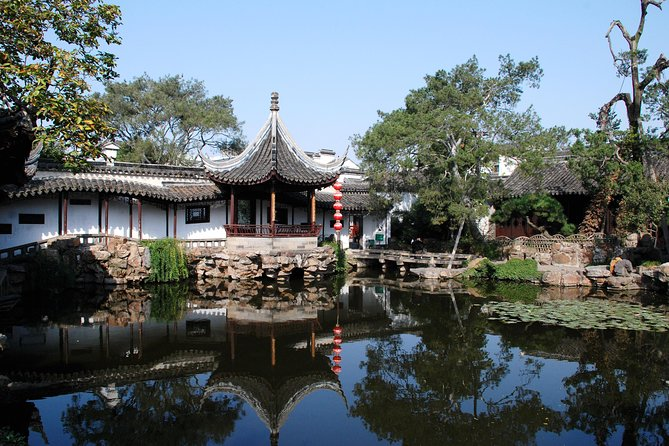 Suzhou og Zhouzhuang Water Village Full Day Coach Tour fra Shanghai