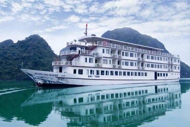 Halong Bay 2 Day 1Night with Huong Hai Sealife Cruise 4 Star