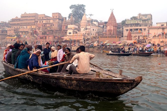 Varanasi- Early morning Boat Trip on Ganges in Banaras
