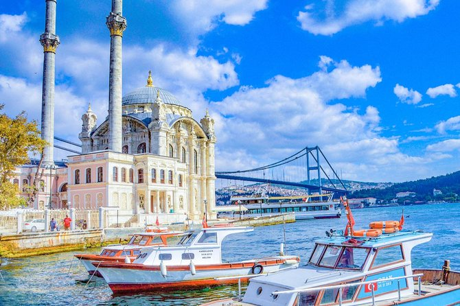 Dolmabahce Palace & Cable Car & Bosphorus On Boat