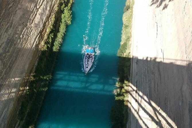 Ancient Corinth and Corinth Canal from Athens - Private tour