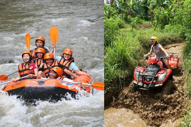 Bali ATV with Rafting Tour