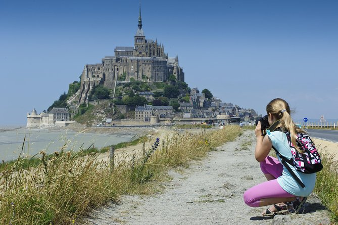 The legendary Mont-St-Michel including Cancale & St-Malo (TGV Train from Paris)