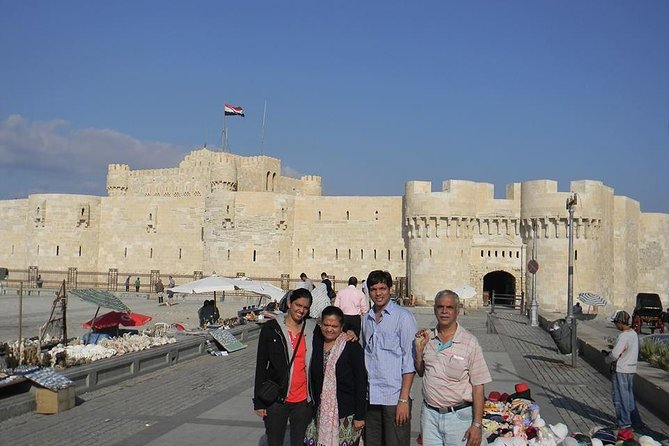 3 private days tours in Cairo, Giza pyramids and Alexandria day tour from Cairo