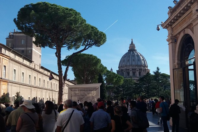 Afternoon Vatican Museums tour small group