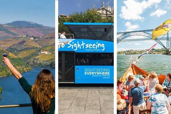Douro Valley Tour & Hop-off Hop-On Porto & Cruise Douro River