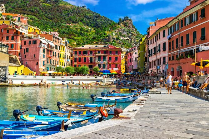 Cinque Terre tour with limoncino tasting from La Spezia Train Station