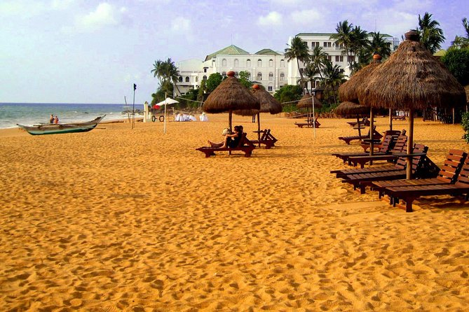 Shore Excursion Colombo Port to Mount Lavinia Beach & Colombo city For 1 - 2 Pax