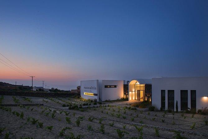 Santorini Wine Tasting and Sunset Getaway Small Group Tour