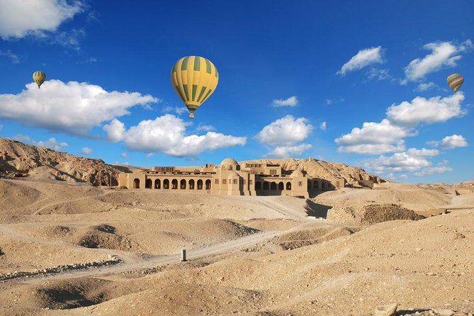 2 Dyes Luxor Tours From Cairo By Round Flight With Hot Air Balloon