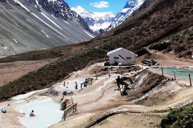Full Day Trip to Cajón del Maipo, El Yeso Dam & Colina Hot Springs from Santiago