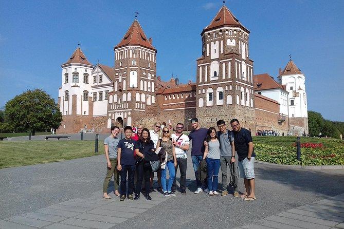 Mir and Niasvizh UNESCO castles tour