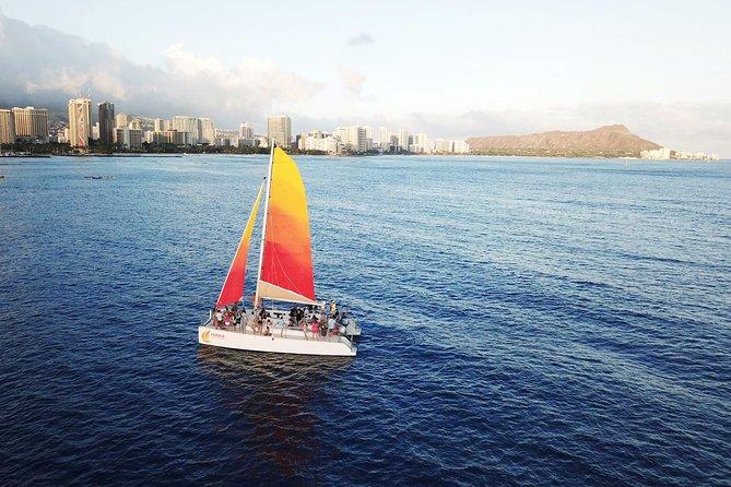 Oahu 3pm Tradewind Sail from Honolulu