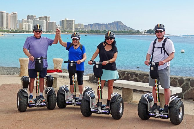 Guided Hoverboarding Tour: 2hr West Waikiki, Magic Island, Ala Moana & More!