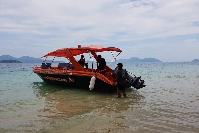 Private Speedboat Trip, Snorkeling and Island-Hopping Around Koh Chang