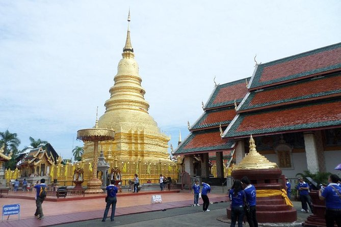 Half Day Lamphun City and Temple (Private Tour)