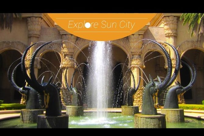 Sun City Day Tour from Johannesburg ZAR R2600