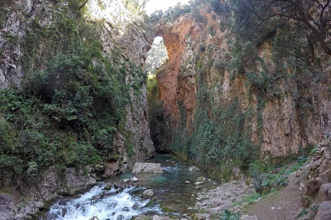 From Chefchaouen: Full day trip to the god's bridge and the waterfalls
