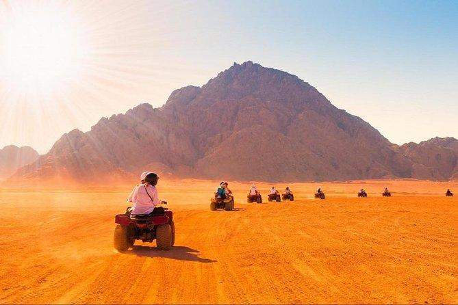 Quad Biking Tour in Sharm El Sheikh Desert
