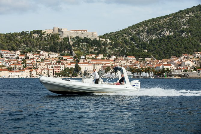 Mesmerizing Hvar South Shore wine tasting with RIB speed boat