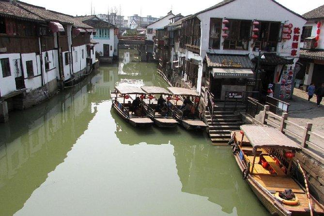 Half Day Tour To Zhujiajiao Water Village