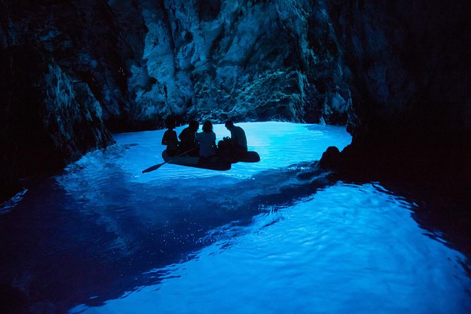 Blue Cave, Vis and Hvar by speedboat