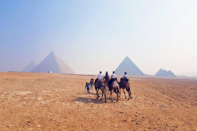 Giza Pyramids and Sphinx with Quad bike