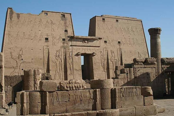 Day tour to Aswan from Luxo visit Edfu,Kom Ombo,Phila Temples & Aswan dam.