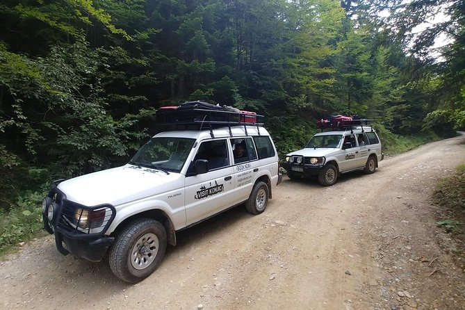 Jeep tour Prenj