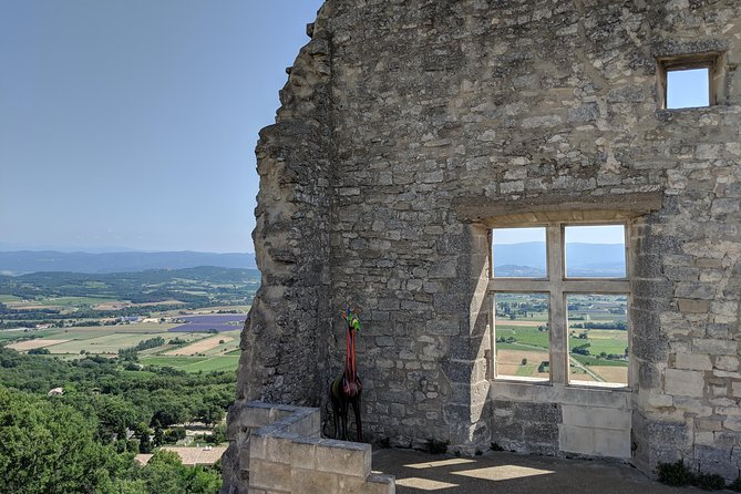 The hilltop villages of the Luberon