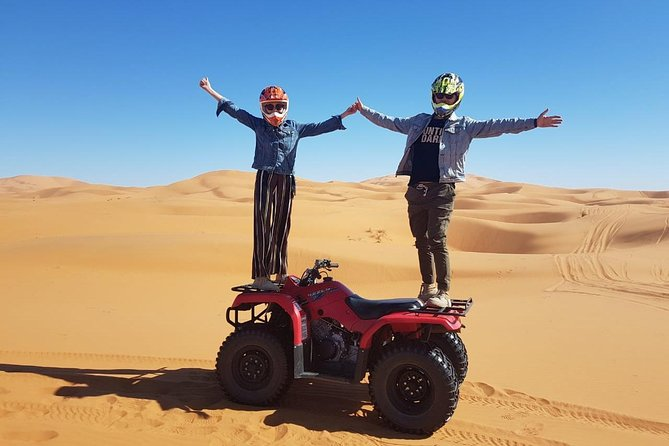 1 hour Quad in the Sahara: Merzouga Off Roading Experience: Nature & Wildlife