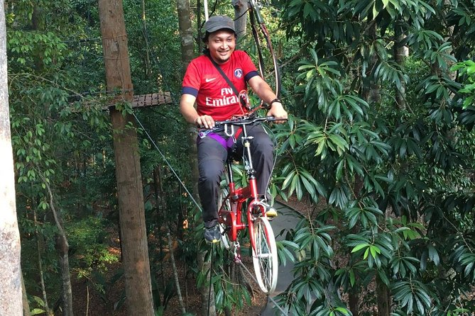 Skytrex Adventure Park Experience in Melaka