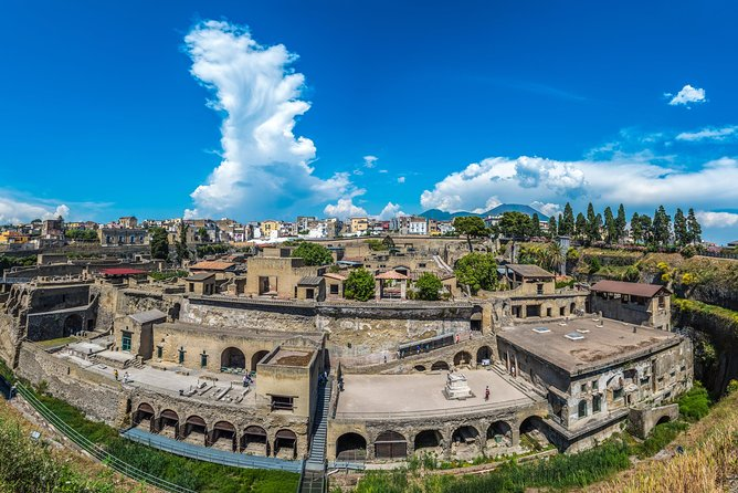 Private Tour: Herculaneum Rail Tour from Sorrento