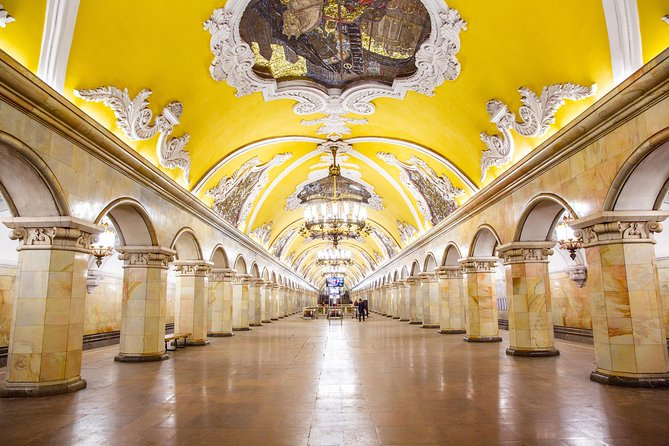 Moscow Metro and Stalin Skyscrapers Private Tour