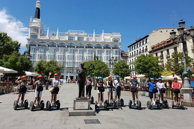 Highlights and parks in Madrid by segway