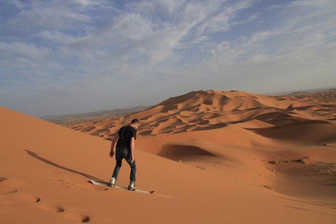 Sahara Activities Package: Quads, Camel Riding, Sandboarding, Camp Overnight