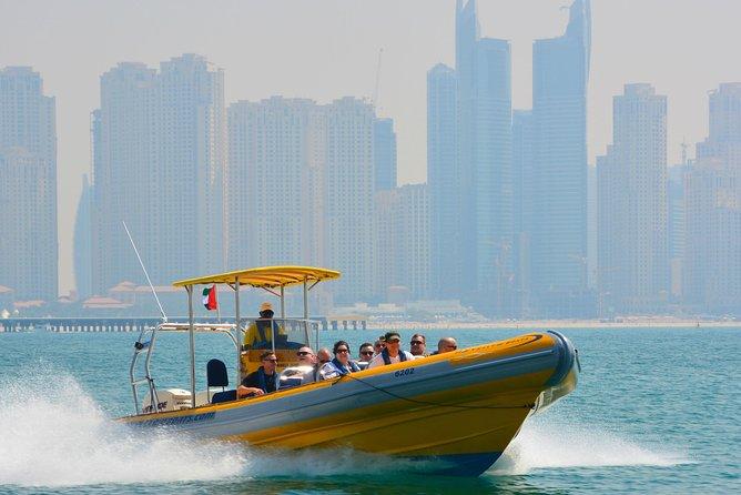 Speedboat Dubai Marina with Private Transfers