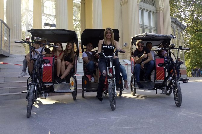 Pedicab: Discover Madrid Tour (2h - up to 3 people)