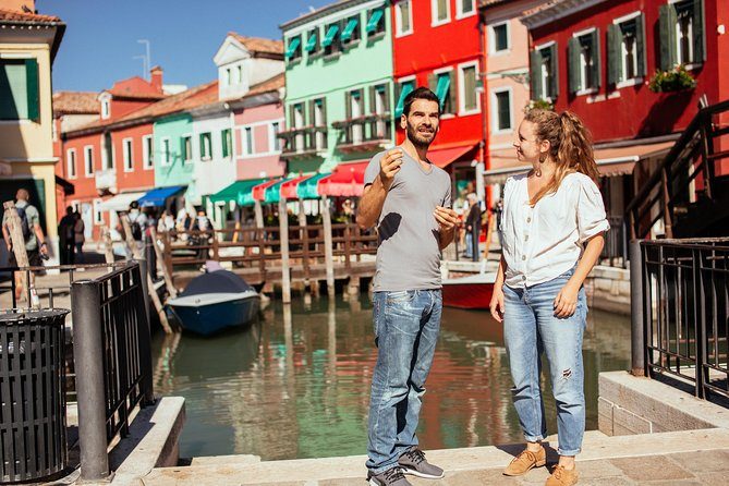 Island Hopping Private Tour to Mazzorbo, Burano, & Murano
