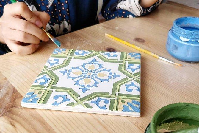 Paint Traditional Porto Tiles Workshop
