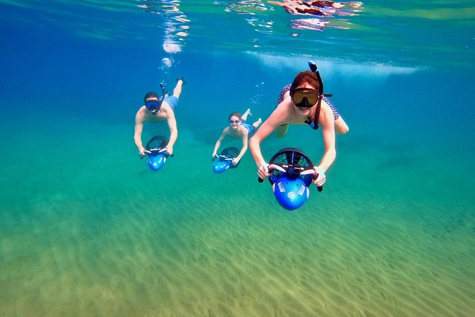 Sea Scooter Snorkeling Tour at Wailea Beach