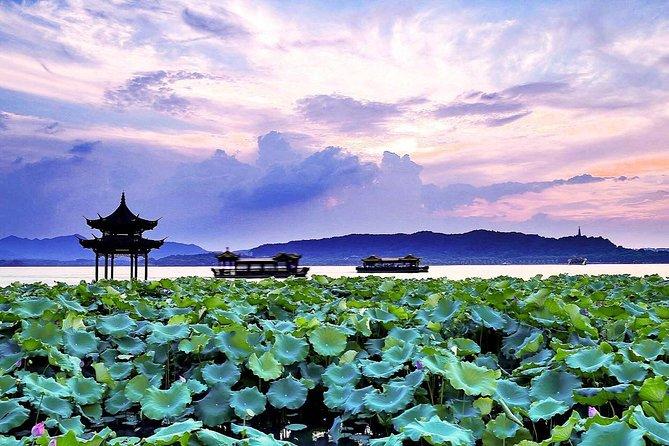 Excursão de destaque de Hangzhou privada flexível de meio dia